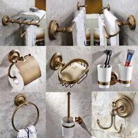 Conjunto de hardware de baño de latón antiguo accesorios de baño toalla Bar aj001
