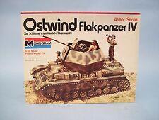 Ostwind Flakpanzer German Anti-Aircraft Tank Monogram Model Kit #7582 Vintage