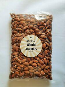 Almonds 1kg Nut Whole Almond Raw Natural BULK 500g 1kg 2kg Californian Nuts