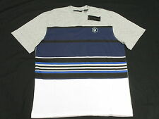 $39 NWT NEW Mens Sean John T-Shirt Striped Print V-Neck Tee Urban Size XL M730