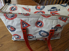 Old Retro PEPSI Insulated Cooler Thermo-Keep by Nappy International Travel Soft