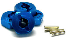 L181 1/8 Scale Buggy M14 14mm Drive Hex Hub Wheel Adapter Alloy Blue x 4 8mm