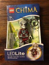 NEW LEGO LED LITE KEYCHAIN CHIMA WORRIZ WOLF KEY RING HOLIDAY LIGHT