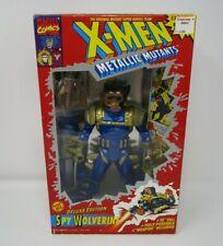 "Spy Wolverine Deluxe Edition 10"" Uncanny X-Men MARVEL Toy Biz Metallic Mutants"