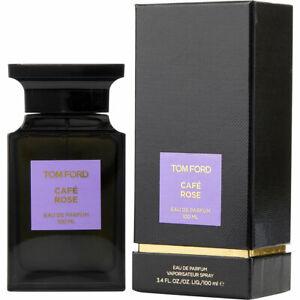 TOM FORD Cafe Rose Eau de Parfum Perfume Spray Woman Men 3.4oz 100ml SEALED NIB