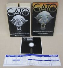 GATO - WWII GATO-Class Submarine Simulation - Spectrum Holobyte Inc. (C64, 64k)