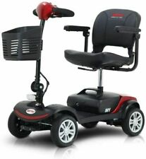 Equipmed AGCMSCEMQA2RD 4-Wheeled Scooter With 2 12Ah Batteries