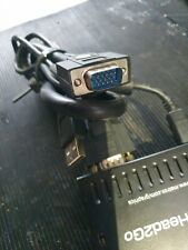 MATROX D2G-A2A-IF DUAL HEAD2GO EXTERNAL DUAL MONITOR VGA ADAPTER (R5S2.1B2)