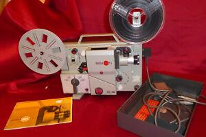 EN BAISSE Projecteur Sonore 8mm EUMIG-WIEN MARK-S Obj.Eumig Euprovar1,3/13-25mm