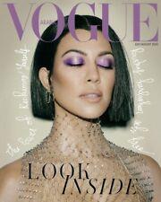 NEW Vogue ARABIA magazine July August 2020 Kourtney Kardashian FREE shipping!