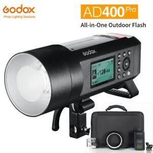 Godox AD400Pro 2.4G TTL HSS Wireless Flash Light Kit Studio Outdoor Strobe Flash