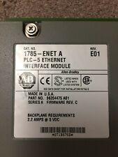 Allen BRADLEY 1785-ENET un modulo di interfaccia Ethernet PLC-5 REV E01