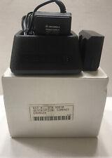 New listing New Motorola Radius P100 Portable Radio Compact Charger Ntn4881B Nos
