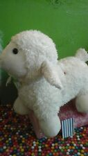 Kellytoy large big Curly Plush Sheep Lamb with sounds cream pink  lovey baby toy