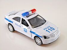 Police Car with *Light & Sound* Die Cast Metal car