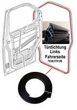 Original LLS VW Transporter T5 Türdichtung Dichtung Links Fahrerseite 7E0837912B