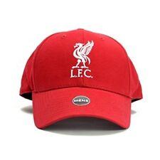 Liverpool Lfc Football Baseball Cap Hat Plain Red 3d Bird Badge Official