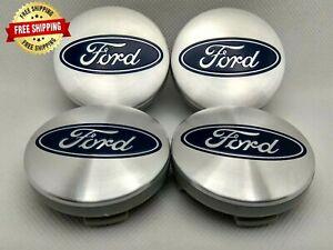 4x54mm Ford Wheels Center Caps Silver Fiesta Focus C-Max KA Kuga 6M21-1003BA