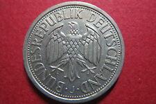 """RARE"" COIN,  GERMANY ""1951-J""  2 DEUTSCHE MARK, ALLEMAGNE REPUBLIQUE FEDERALE"