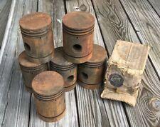 Studebaker Light Six pistons. NOS, 1919-1927, EH, EL, EQ.  Erskine