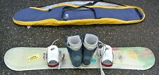 Shorty Snow Board with Bindings & Burton Boots size 9 with Burton Bag  Free Ship