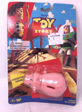 Vintage 1995 TOY STORY Hamm  Figure Thinkway Toys on Card