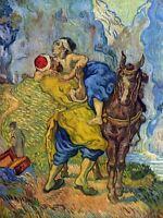 Vincent Van Gogh Good Samaritan Old Master Painting Canvas Art Print