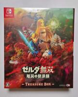 Nintendo Switch Hyrule Warriors Age of Calamity Treasure Box Limited Edition NEW