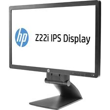 "NUOVO HP Z22i 21.5"" (22"") Full HD LED Retroilluminato LCD IPS MONITOR PC DISPLAY PORT DVI"