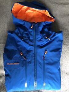 Mammut/Eiger Extreme/Jacke/Nordwand Advanced/Herren/Gr.L/blau/Neuwertig
