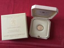 Vatican 20 € en or Basilique St Antoine de Padoue 2017