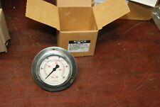 Noshok 25-911-100-psi/kPa, Pressure Gauge, 0-100psi, New