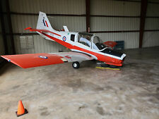 1976 Scottish Aviation Bulldog, 2 Seat Side-By-Side/Sticks, Bubble Canopy, Aerob