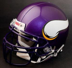 ADRIAN PETERSON Edition MINNESOTA VIKINGS Riddell REPLICA Football Helmet NFL