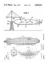 Zeppelin Airships USA 1930-2003, 170 Patents