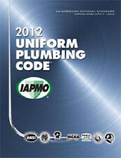 2012 Uniform Plumbing Code Book in Soft Cover - New