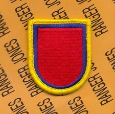 US Army 127th Airborne Engineer Bn beret flash patch m/e