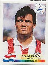 N°266 CELSO RAFAEL AYALA PARAGUAY PANINI WORLD CUP 1998 STICKER VIGNETTE 98
