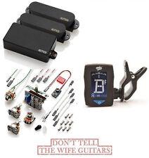 EMG S / S / 85 BLACK HSS STRAT PICKUP SET ( GUITAR TUNER ) STRATOCASTER