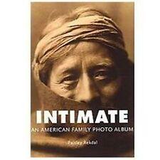 Intimate: An American Family Photo Album (Tupelo Press Lineage)-ExLibrary