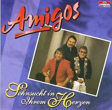 (CD) Amigos - Sehnsucht in Ihrem Herzen - Irgendwo Da Oben, Rote Rosen, u.a.