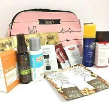 Lot of 16 Makeup, Macadamia, Suave, Living Proof, Pink Benefit Bag Bundle