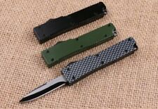 Microtech Automatic Knife - Coltello Automatico Compatto Small carbon  aluminum