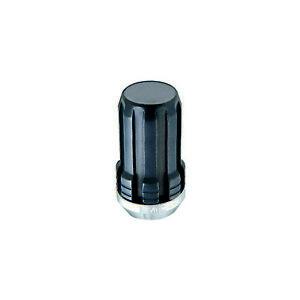 McGard 65310BK 4; Lug Nut Set Black M14 x 1.5 Pitch 1.935 Length
