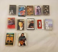 Lot  of 12 Country Cassette Tapes Garth Brooks Kenny G Doug Stone, Plus More