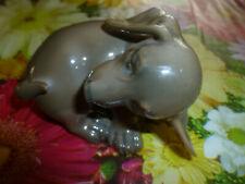 """Vintage Royal copenhagen Denmark figurine Puppy dog #1407 dachshund 4"""""""