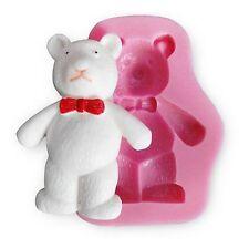 Teddy bear Silicone Fondant Cake Chocolate Sugarcraft Decorative Mould