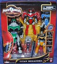 Power Rangers Mystic Force Deluxe TITAN MEGAZORD New Factory Sealed 2006