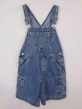 GIRLS GAP Jeans Overalls Denim SHORTS Shortalls Bibs - Size Medium