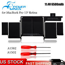 "New listing A1582 Battery for Apple MacBook Pro 13"" Retina Emc 2835 A1502-2015 6.5 Ah 11.43V"